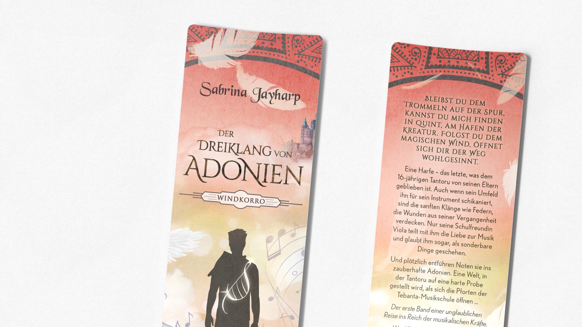 Der Dreiklang von Adonien Lesezeichen