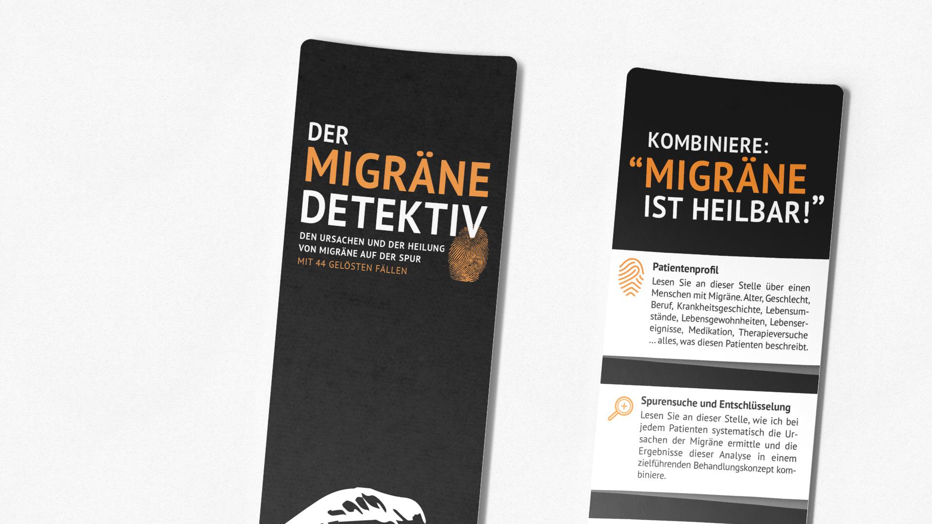Der Migräne Detektiv Lesezeichen