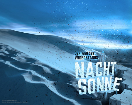 Nachtsonne Wallpaper