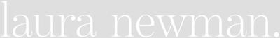 laura newman Logo white