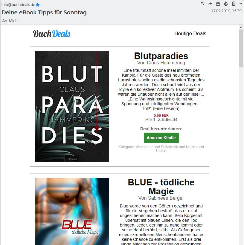 Bezahlte E-Book Werbemaßnahmen 2019