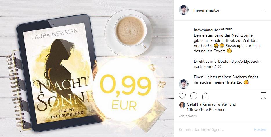 Analyse: E-Book Werbemaßnahmen 2019