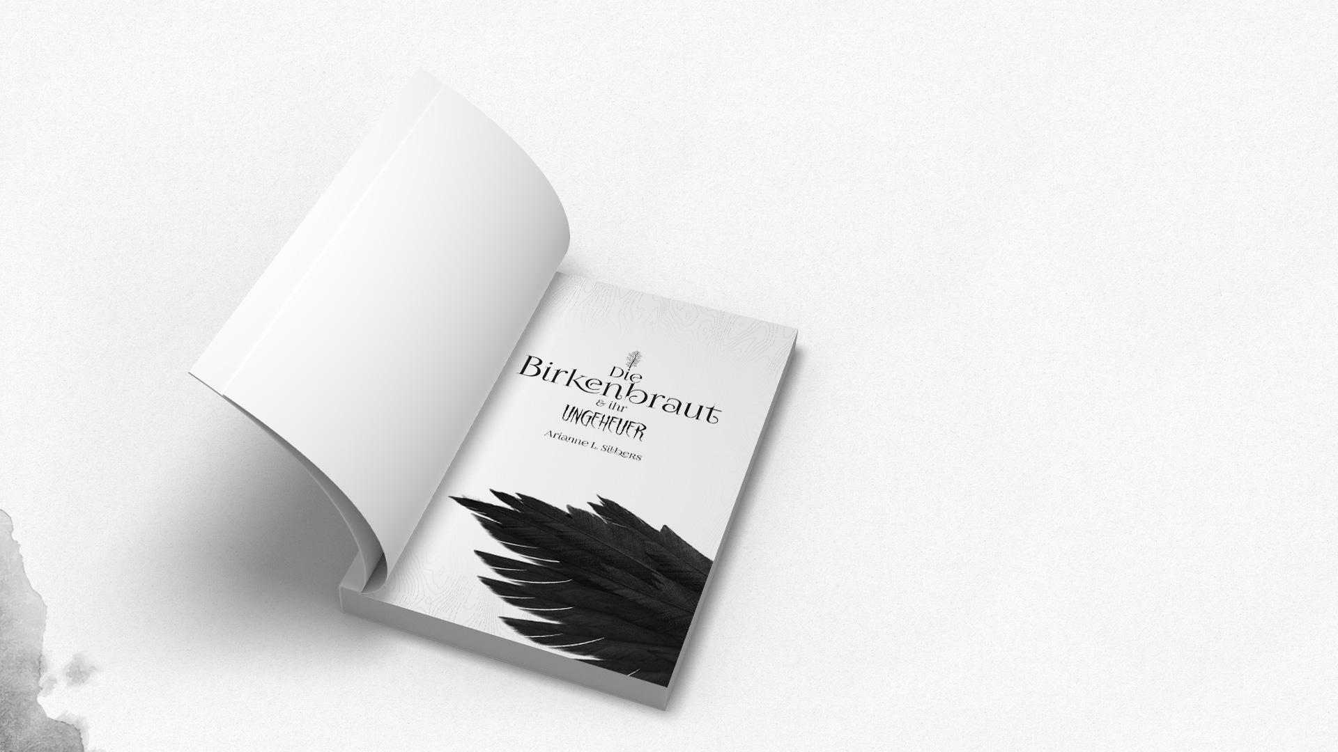 Die Birkenbraut Buchsatz